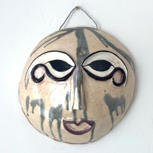 Other - Mid-Century / Art Deco Ceramic Handmade Mask